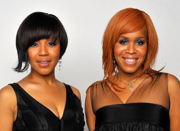 Tina Evette Atkins and Erica Monique Atkins of Mary Mary