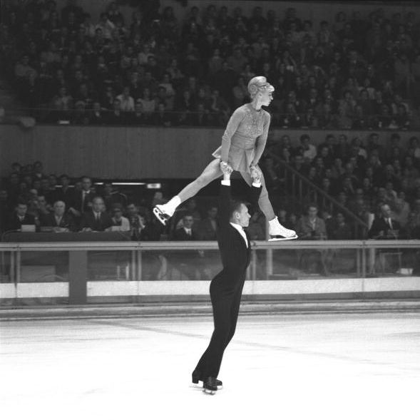 Ludmila Belousova and Oleg Protopopov, Olympics 1968.