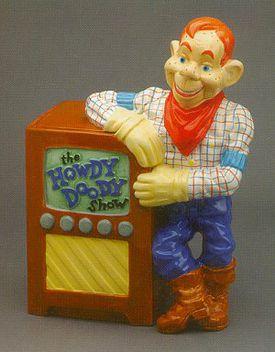 Treasure Craft Howdy Doody Jar