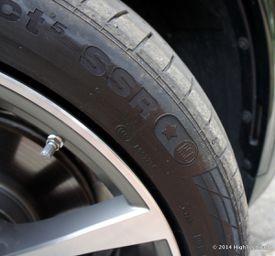 Run-flat Tires - 2014 BMW X5 xDrive 35i