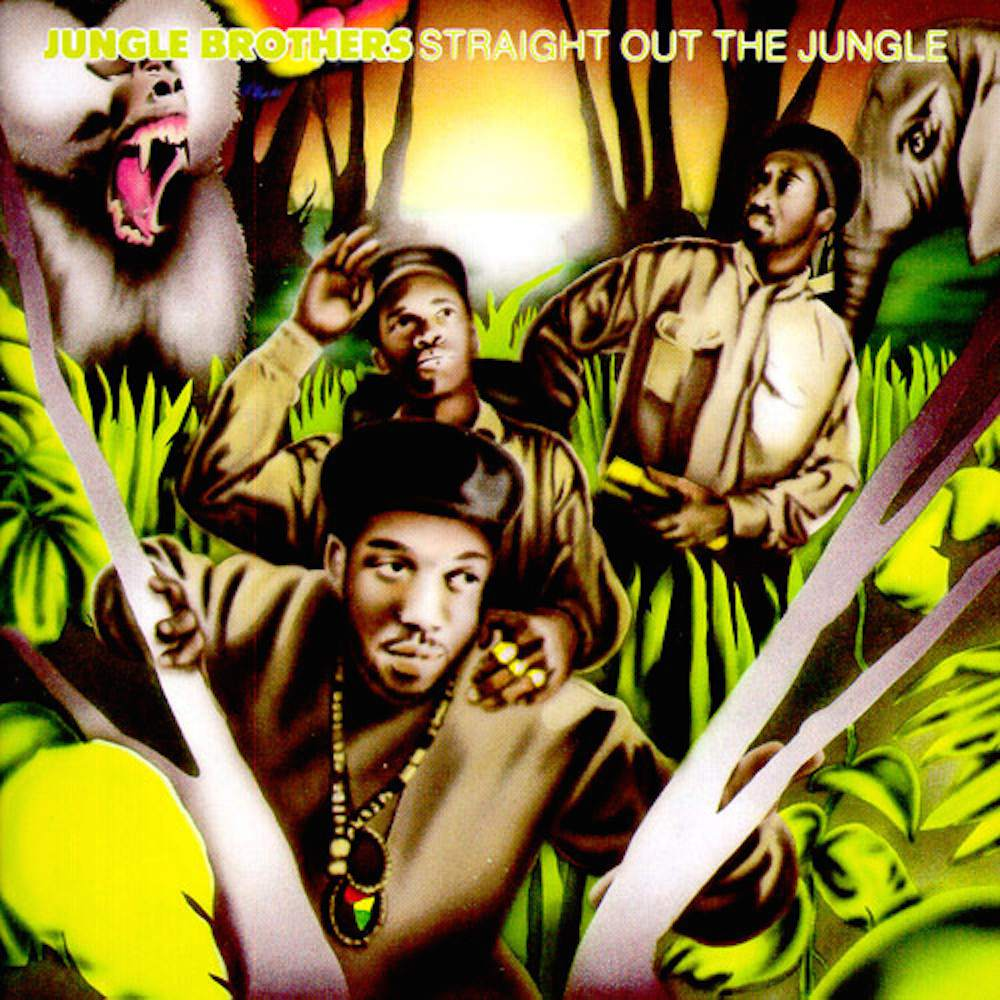 Jungle Brothers - Straight Out of the Jungle