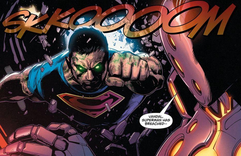Comic panel from Superman/Wonder Woman #26