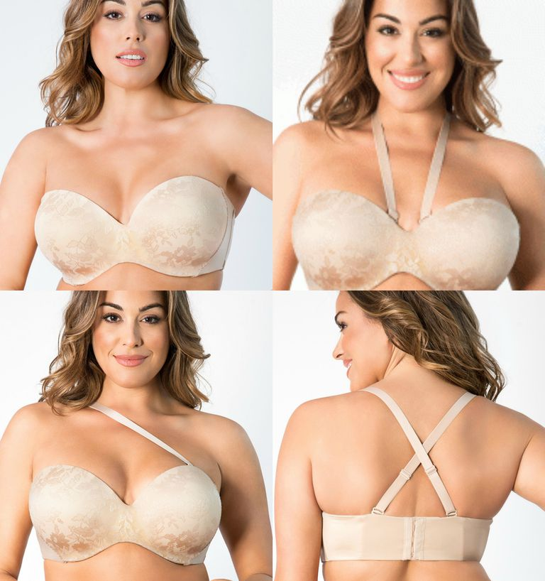 b622c77fbe7e9 Full Support Strapless Bras for Large Busts