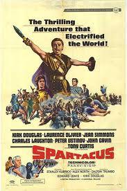 Spartacus movie poster