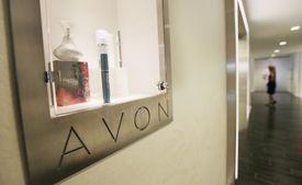 Hallway in Avon Products New York Headquarters