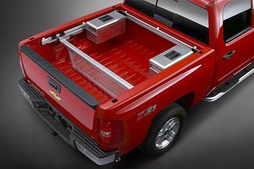 2007 Chevrolet Silverado truck bed
