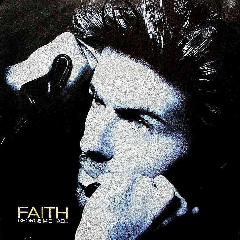 George Michael reached the top of the charts once again with this title track of his top-selling 1987 album. Single cover