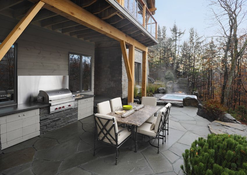 Photo of the terrace of the HGTV Dream Home 2011
