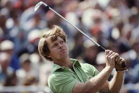 Tom Watson at the 1977 British Open