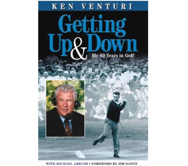 Ken Venturi autobiography book cover