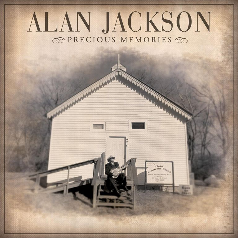 Alan Jackson Precious Memories album cover