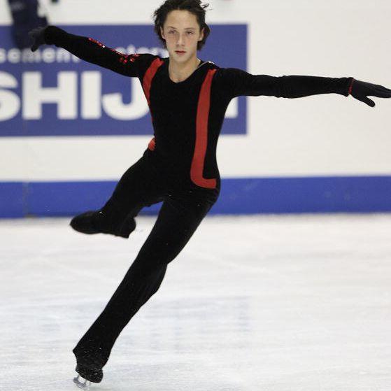 U.S. Men's Figure Skating Champion Johnny Weir