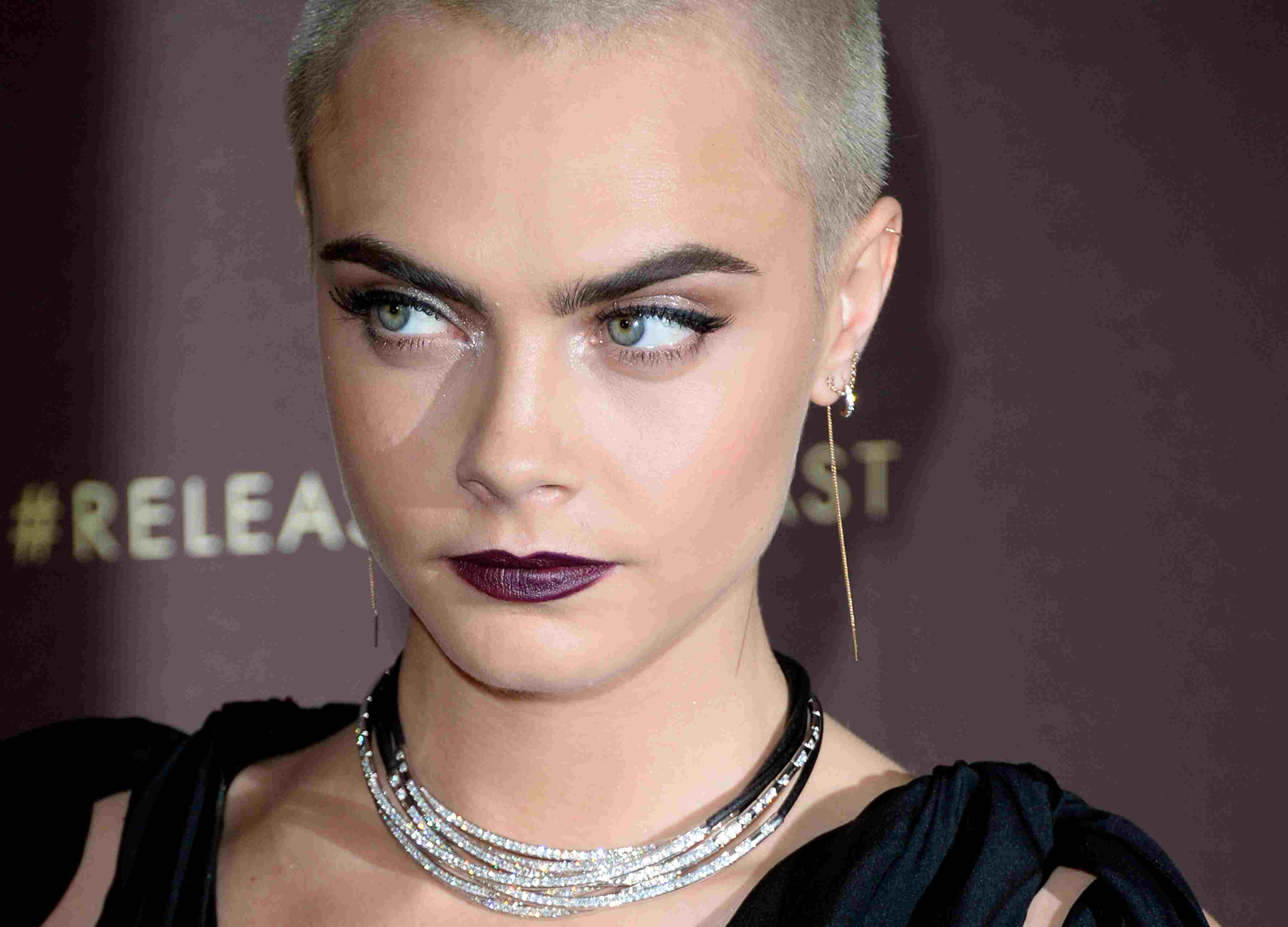 Cara Delevingne at the Magnum party