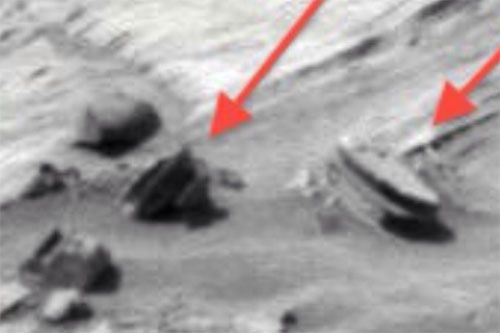 Mars Oval Structure