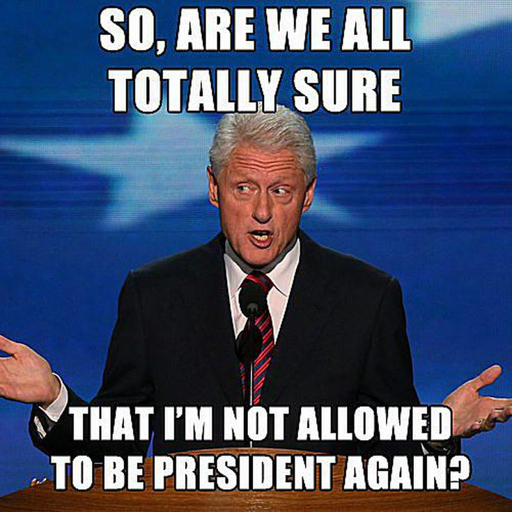 Funniest Bill Clinton Memes And Pictures