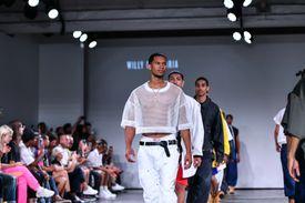 Model Willy Chavarria - Runway - July 2018 New York City Men's Fashion Week