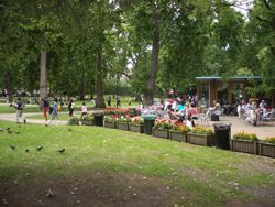 Russell Square, the Heart of Bloomsbury