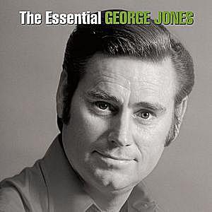 the essential george jones album cover