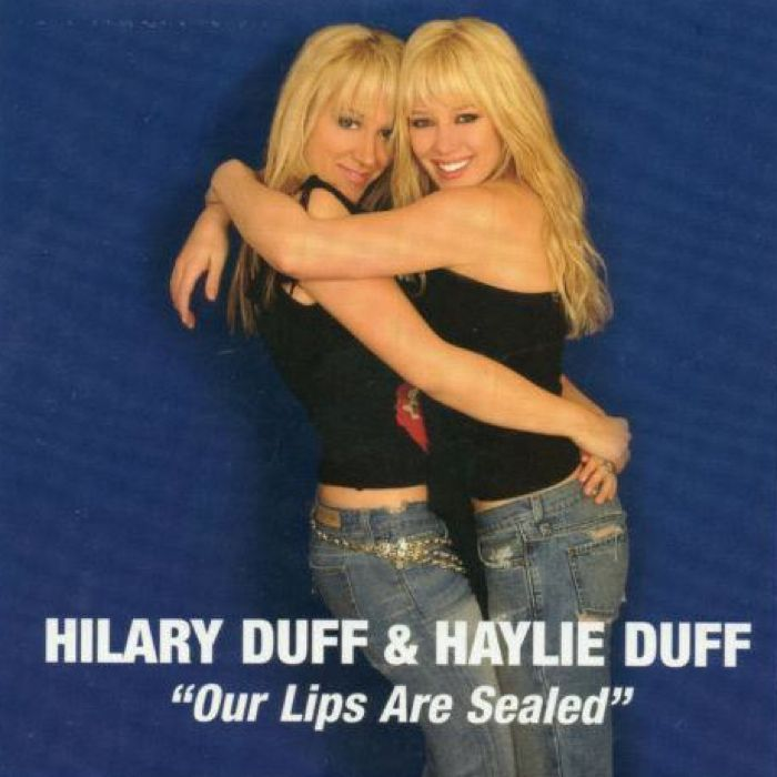 Hilary Duff Haylie Duff Our Lips Are Sealed