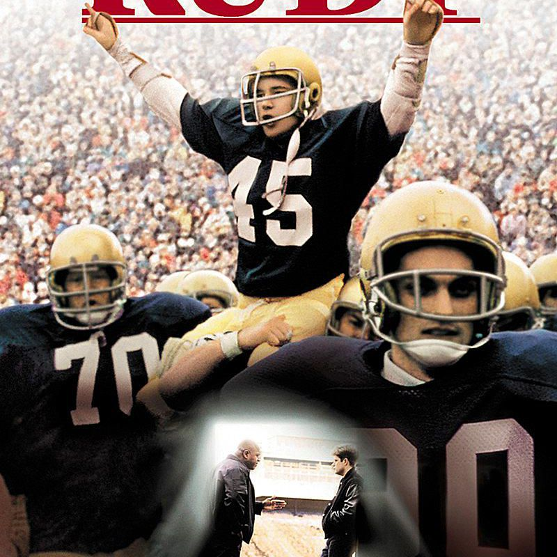 Movie poster for Rudy