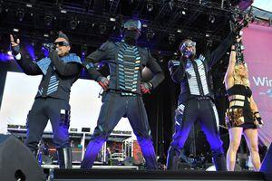 Black Eyed Peas on stage