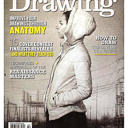 """Cover of """"American Artist - Drawing"""""""