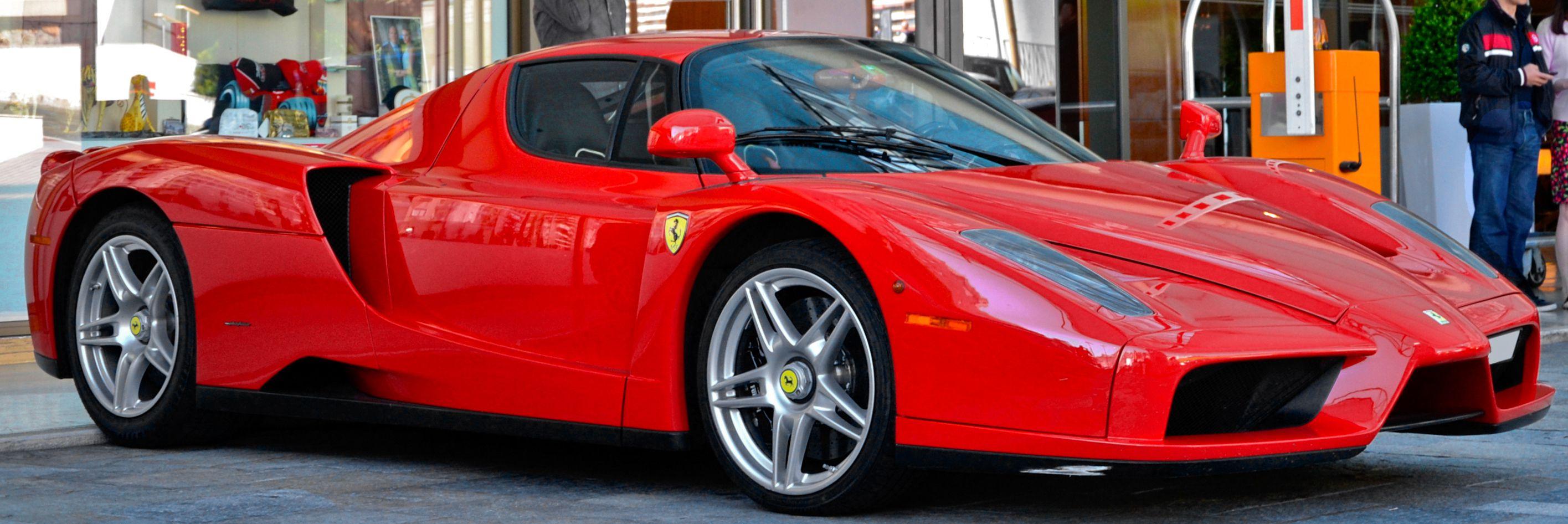 Profile Of The Ferrari Enzo