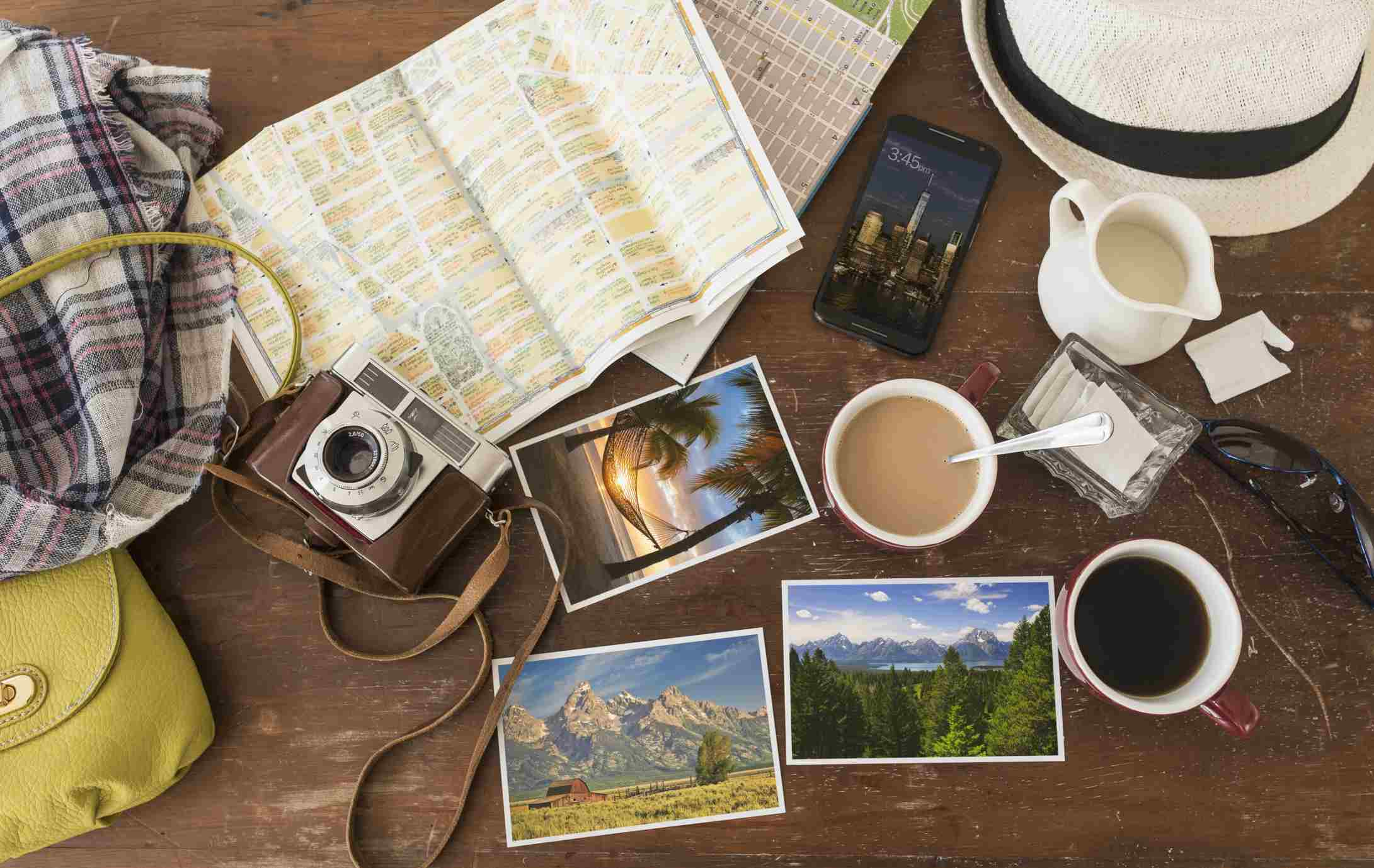 Travel Guides and Souvenirs