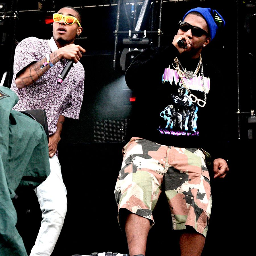 The Cool Kids performing