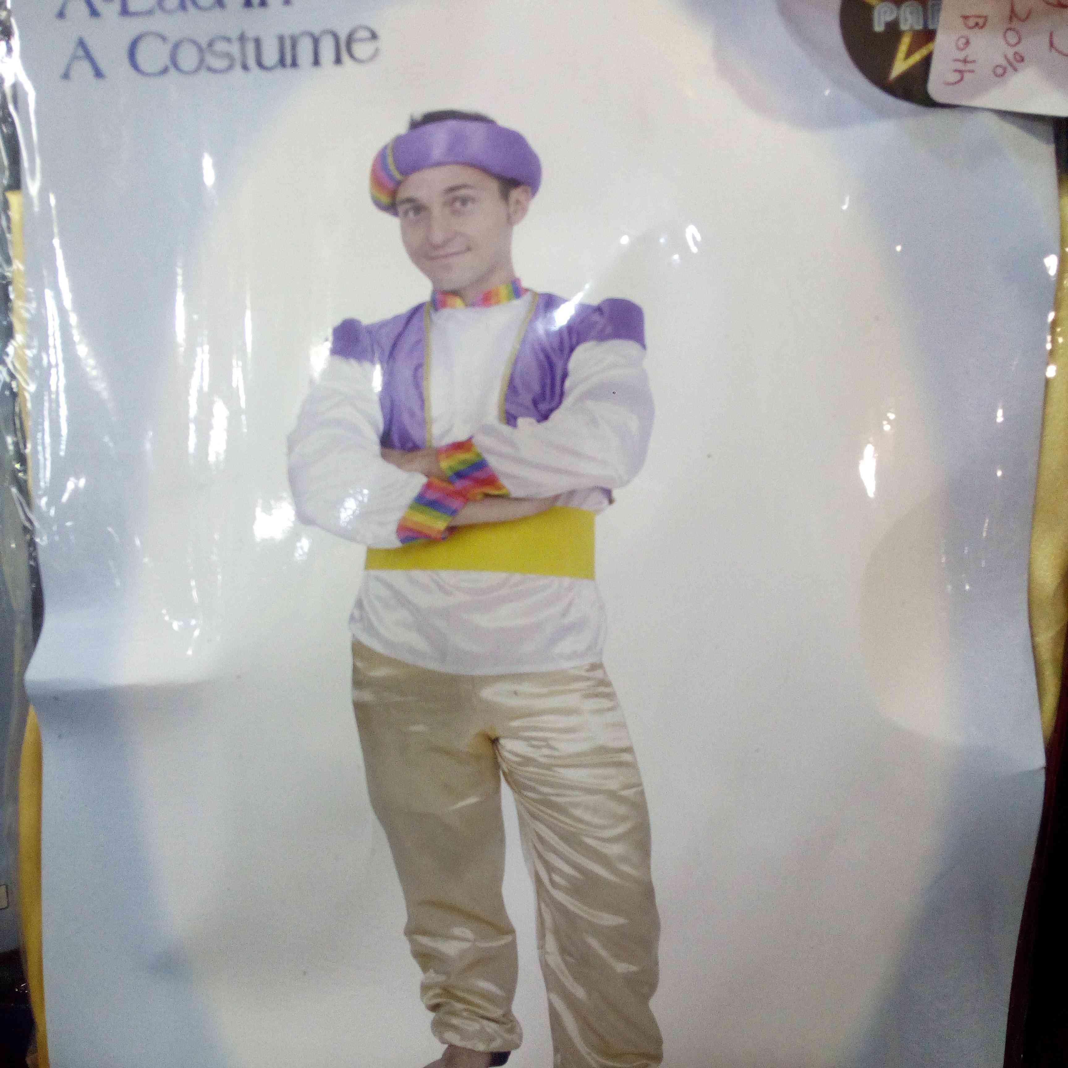 Knock off Aladdin Costume
