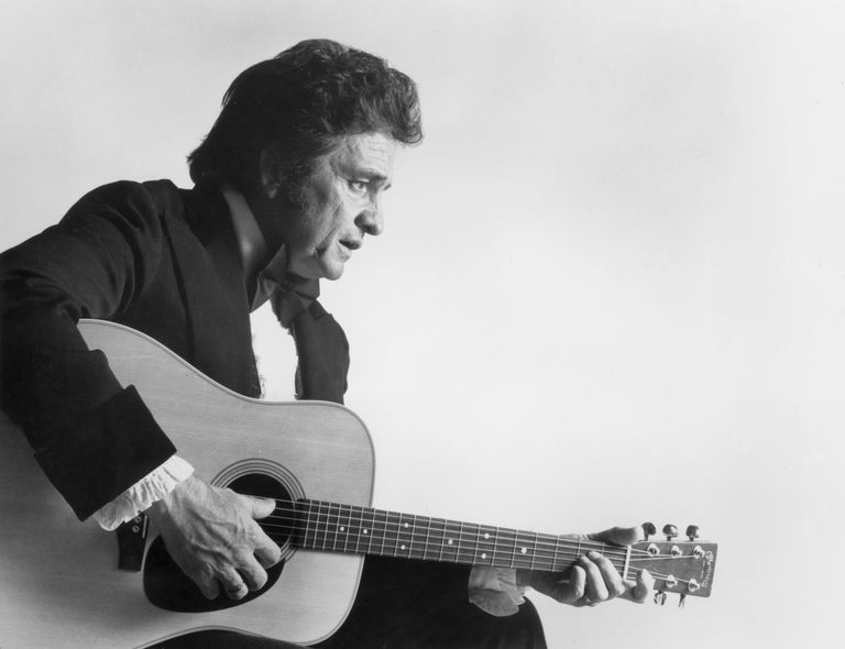 Johnny Cash, a.k.a. The Man In Black