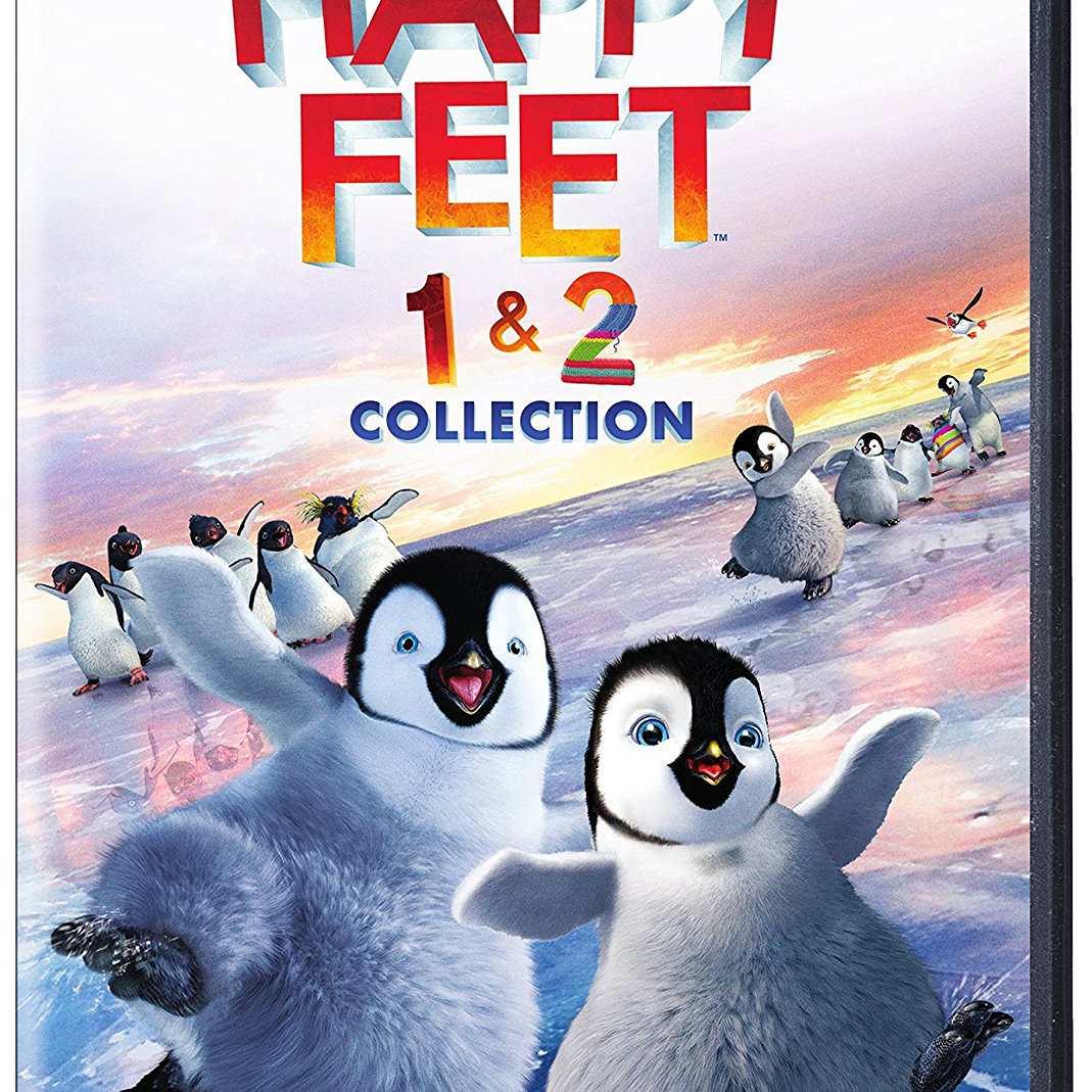 Happy Feet 1 & 2 DVD