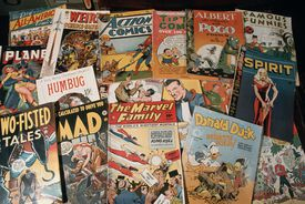 Collection of Old Comic Books.