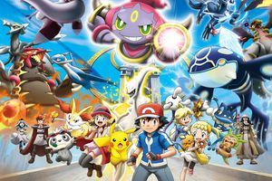 The 18th Pokemon Movie Featuring Groudon, Kyogre, Arceus, Lugio and Other Legendary Pokemon: Pokemon The Movie: Hoopa and the Clash of Ages