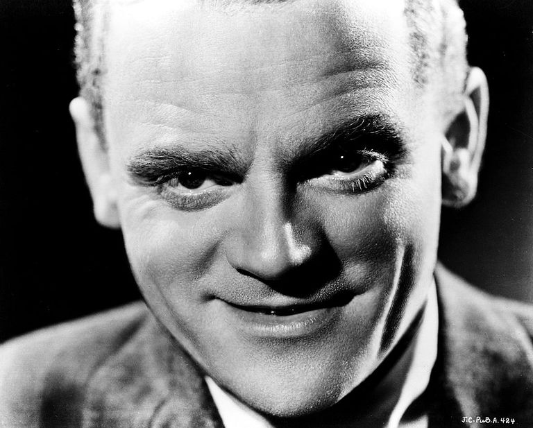 Headshot of James Cagney