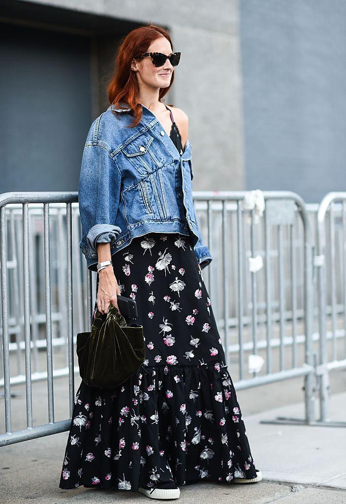b2df944f8f 10 Stylish Ways to Wear a Jean Jacket This Summer