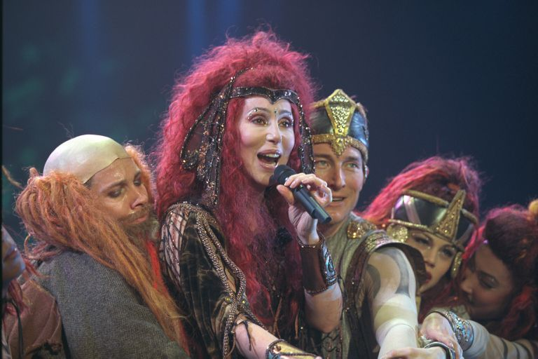 CHER IN CONCERT IN PARIS
