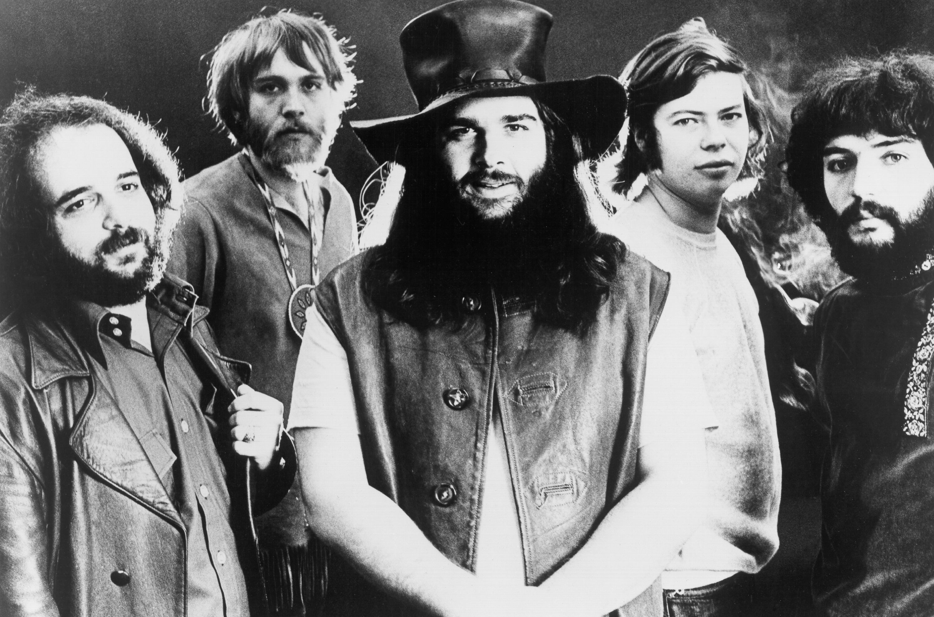 Canned Heat band portrait