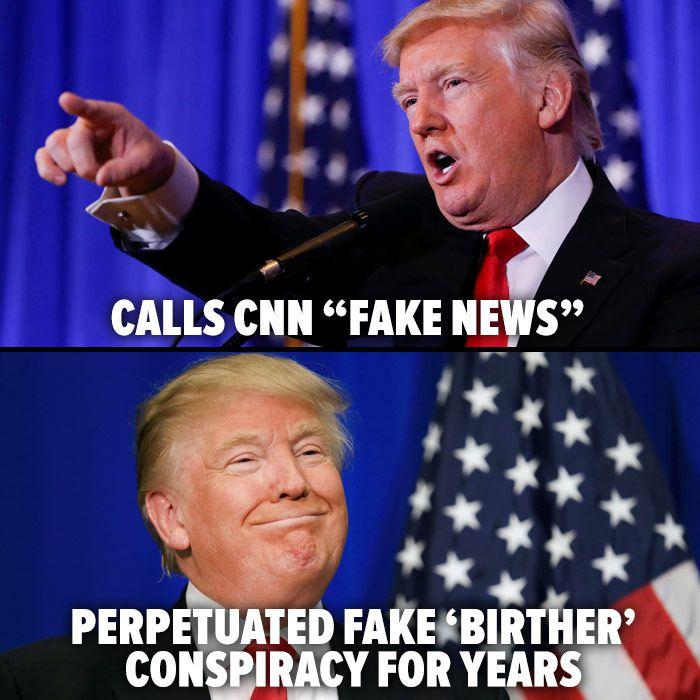 Fake news - trump meme