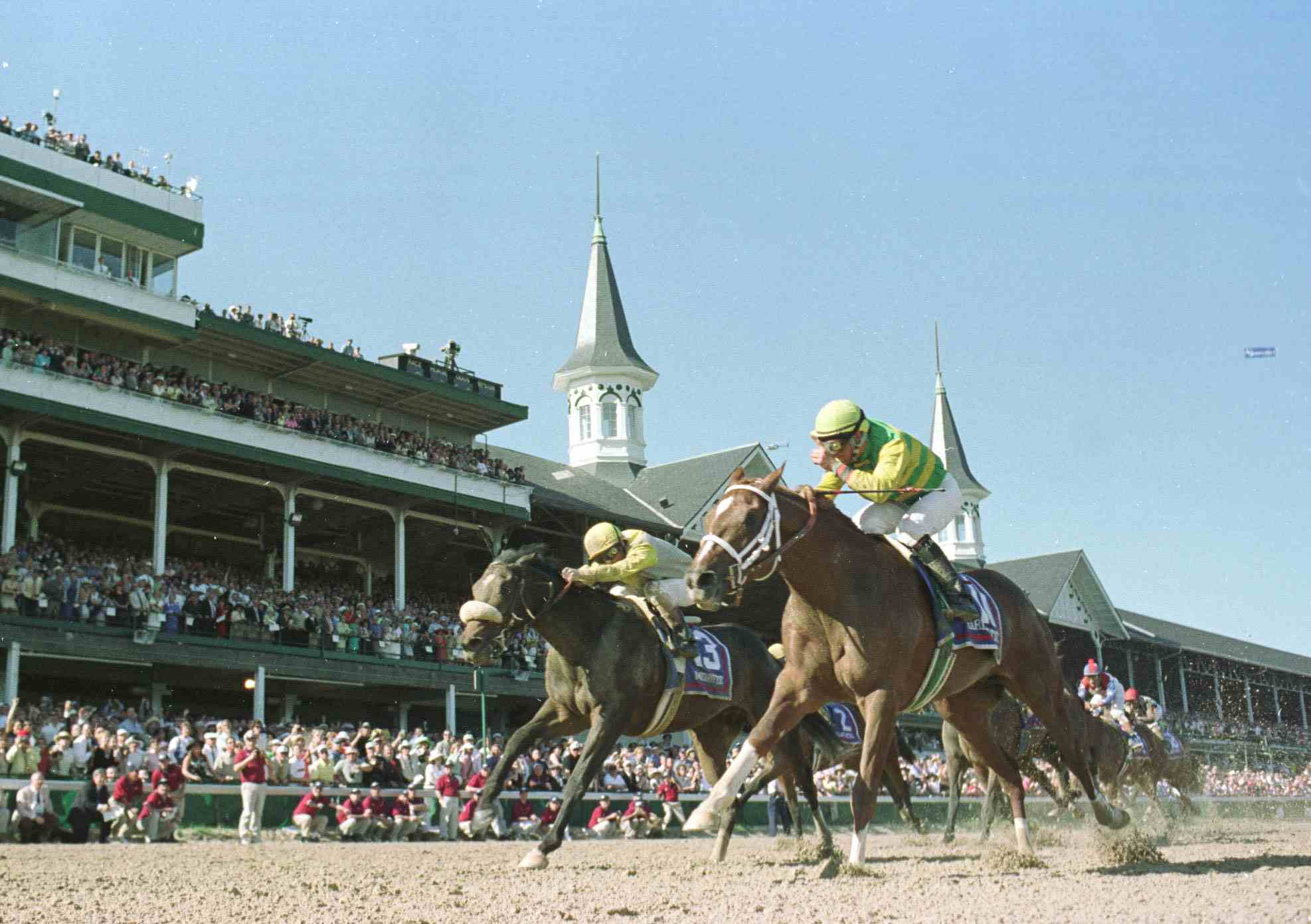 Kentucky Derby horse Charismatic