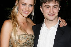Theresa Palmer, Daniel Radcliffe at the December Boys Los Angeles Premiere