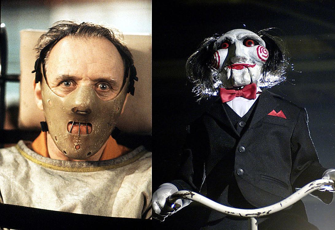 Horror Movie Crossovers: Hannibal vs. Jigsaw