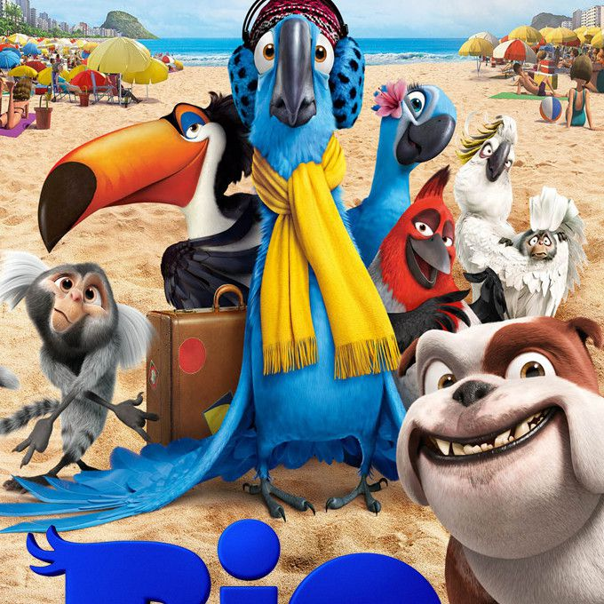 """Rio"" movie DVD cover art."