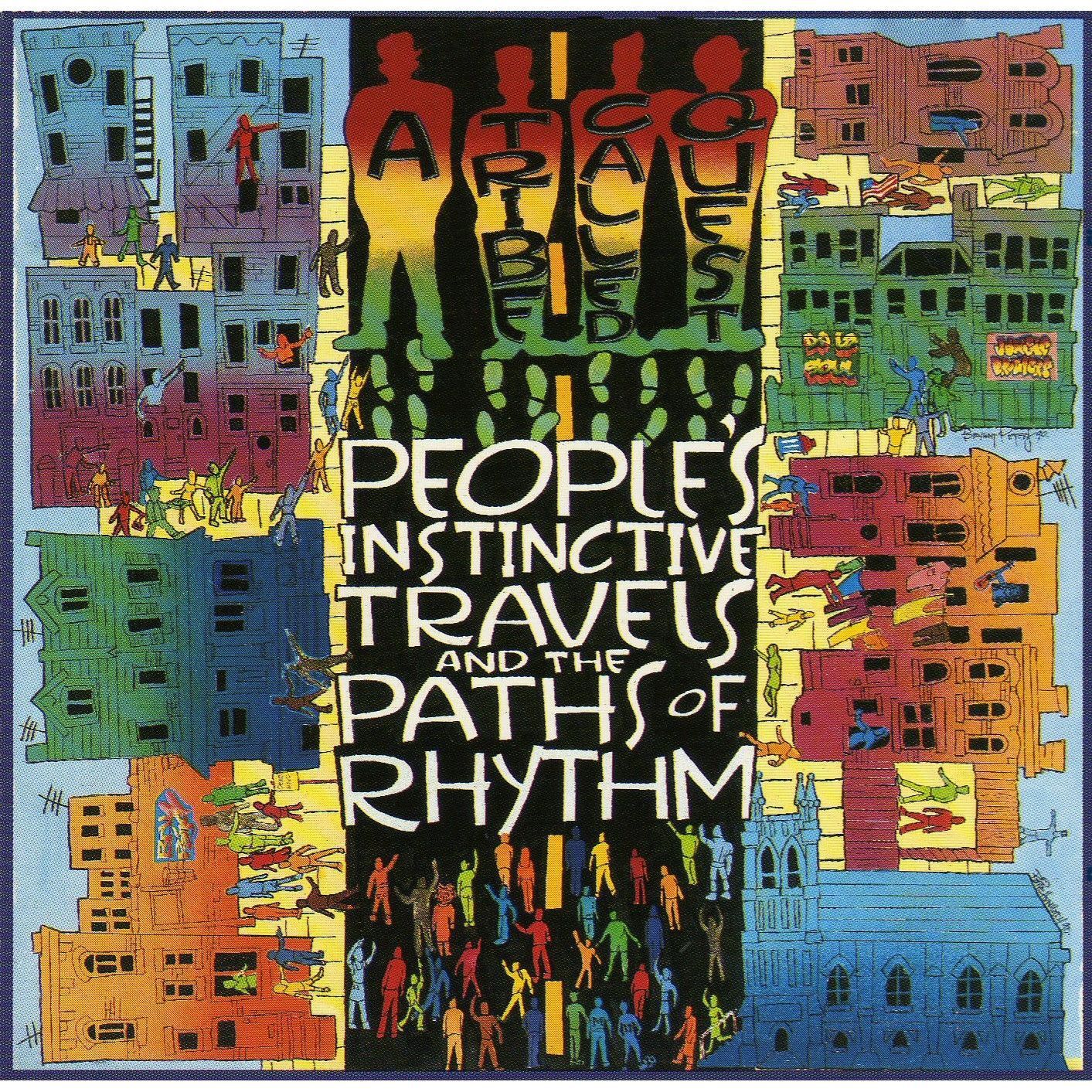 Peoples Instinctive Travels And The Paths Of Rhythm cover