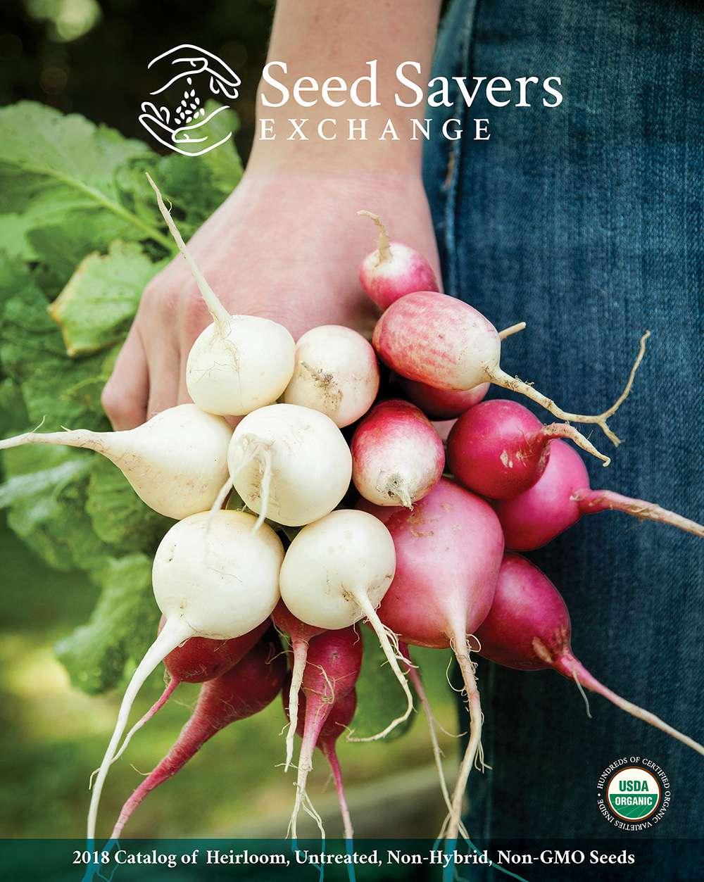 The cover of the 2018 Seed Savers Exchange catalog