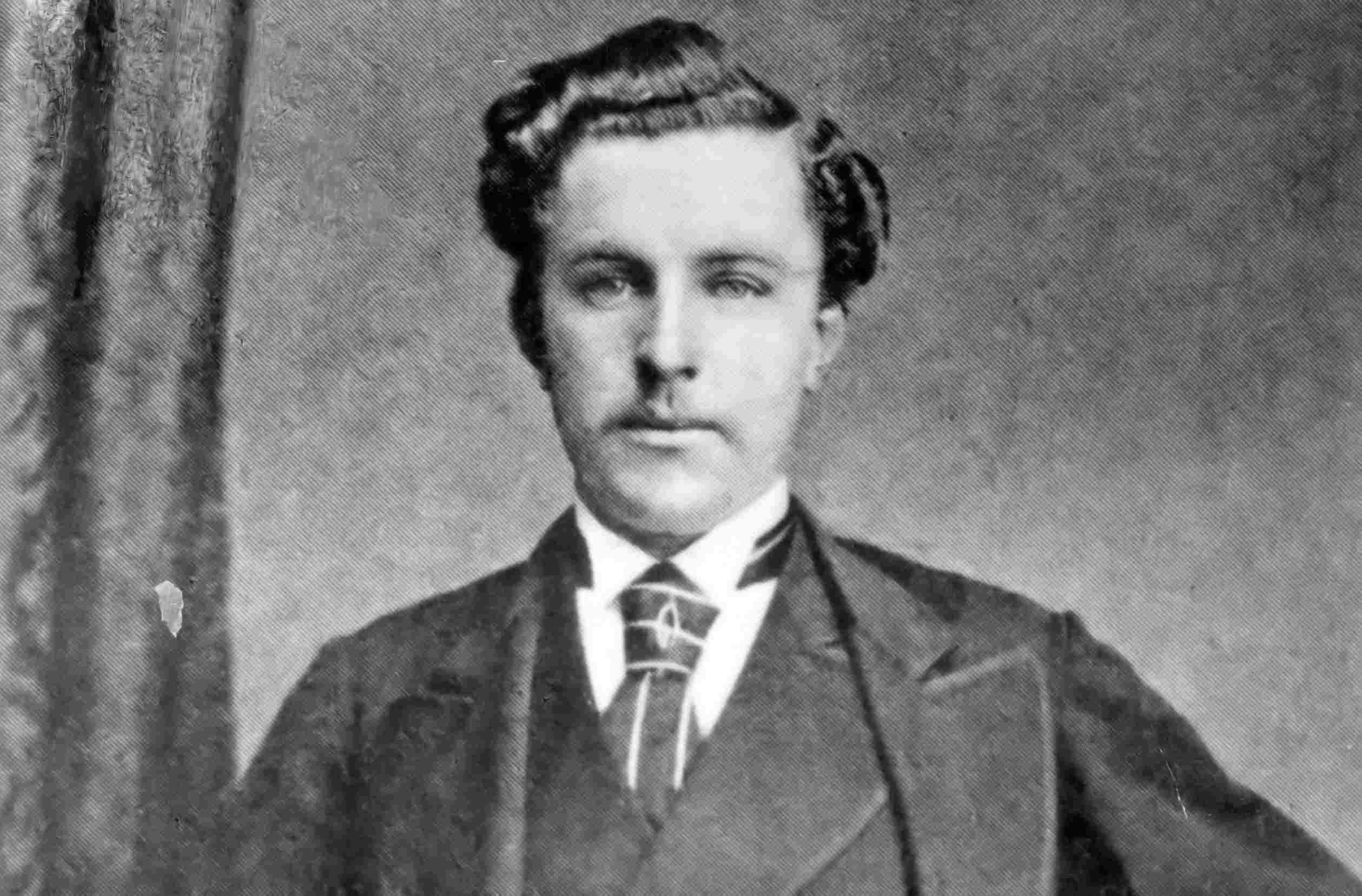 Young Tom Morris, pictured in 1873.
