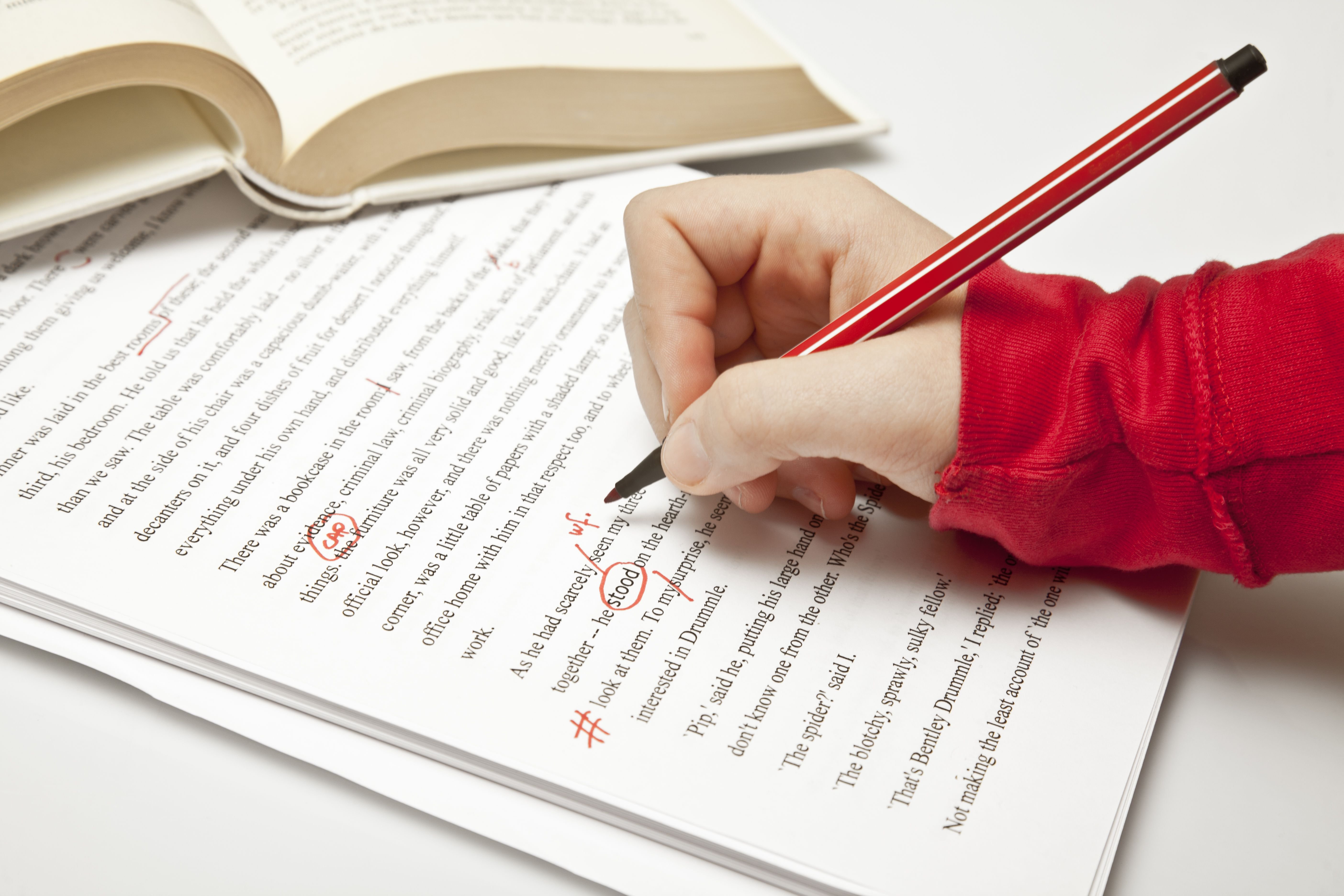 Proofreading Your Entry