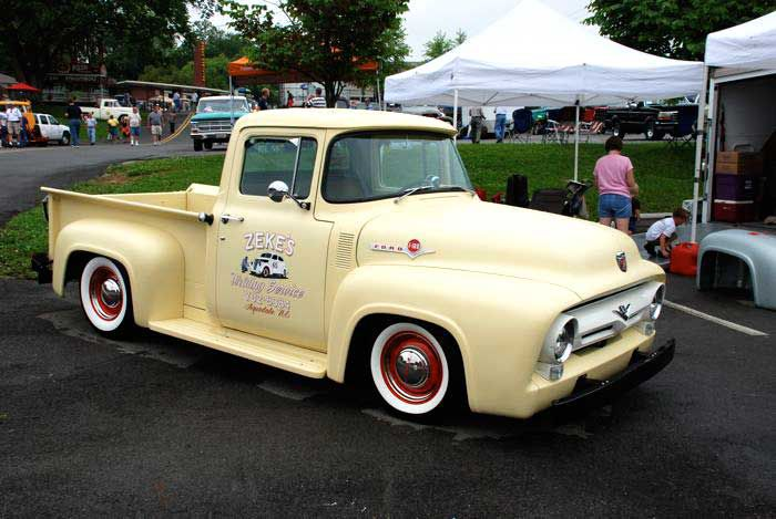 50s Ford Truck >> Pictures Of 1953 1956 Ford F 100 Pickup Trucks