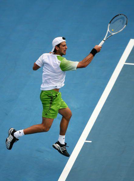 Novak Djokovic's Forehand Grip