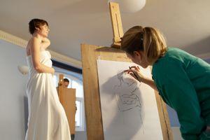 Art Modeling class